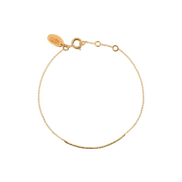 Bracelet doré Disco