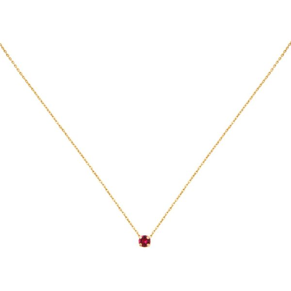 Collier doré Ruby Paris