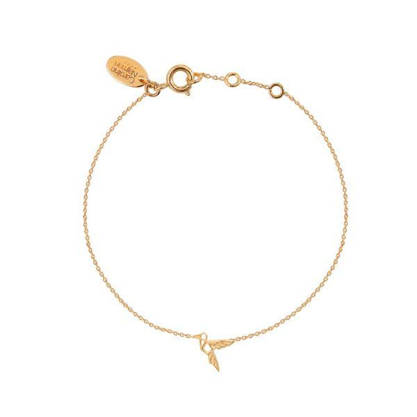 Bracelet doré Mini Colibri