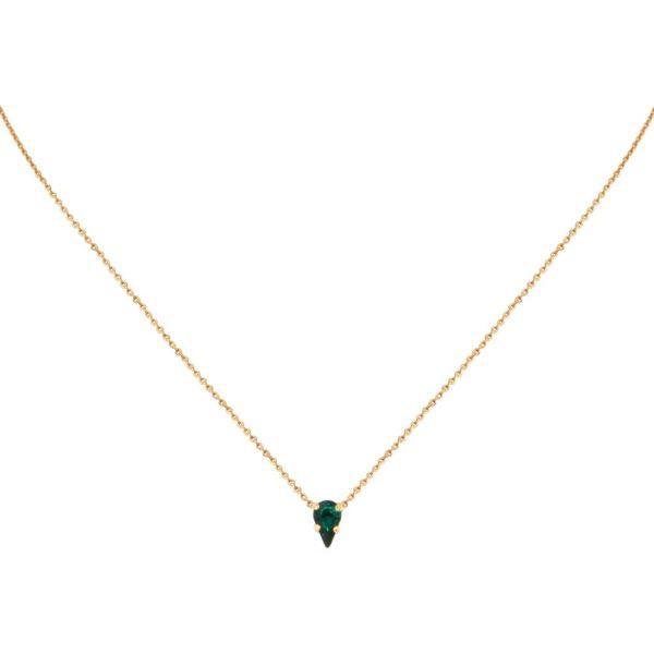Collier doré Emerald Vendôme