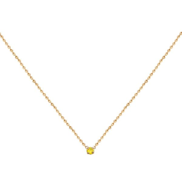 Collier doré Yellow Opal Paris