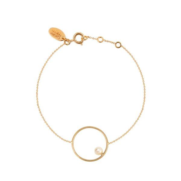 Bracelet doré cream rose pearl Néo
