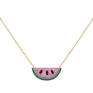Collier doré Kuchi Watermelon