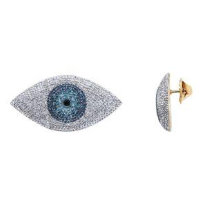 Pin's XL doré Kuchi Eyes 207