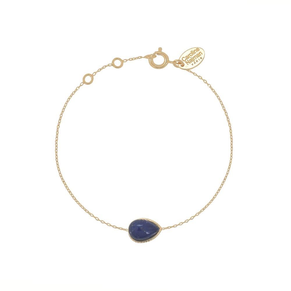 Bracelet doré Lapis Caprice