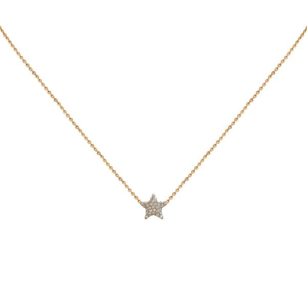 Collier doré Kuchi Star gold