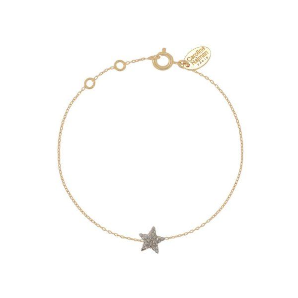 Bracelet doré Kuchi Star gold