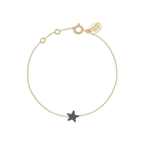 Bracelet doré Kuchi Star Night
