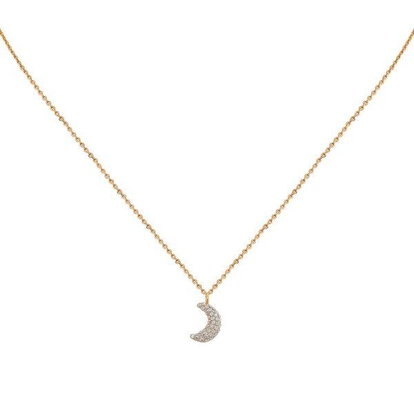 Collier doré Kuchi Moon gold