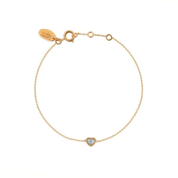 Bracelet doré Crystal Lovely