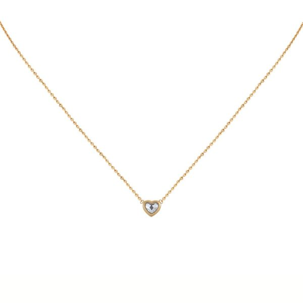 Collier doré Crystal Lovely
